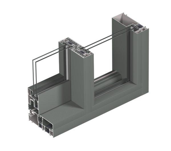 aluminiowe drzwi przesuwne