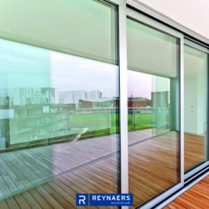 aluminiowe systemy przesuwne Reynaers