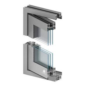 drzwi harmonijkowe aluminiowe